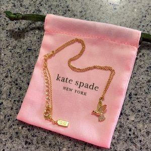 Kate Spade ♠️ Gold Hummingbird Necklace